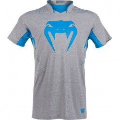 Футболка Venum Hurricane X Fit T-shirt Grey Blue
