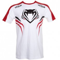 Футболка Venum Shockwave 2 T-shirt White-Red