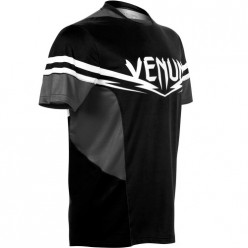 Футболка Venum Sharp 2.0 Dry Tech T-shirt Black Grey