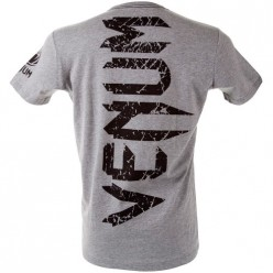Футболка Venum Giant T-shirt Grey Black