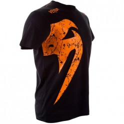Футболка Venum Giant T-shirt Black Orange