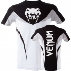 Футболка Venum Shockwave 3 T-Shirt - Black White