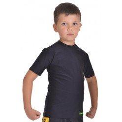 Компрессионная футболка для детей MARTIAL FIT black Berserk-sport с коротким рукавом