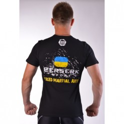 Футболка BERSERK MMA U-1 black
