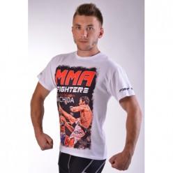 Футболка BERSERK UFC FIGHTERS MACHIDA white