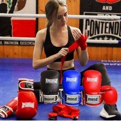 Боксерські рукавиці PowerPlay 3019 Червоні 16 унцій