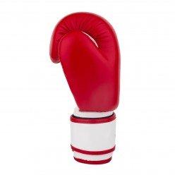 Боксерські рукавиці PowerPlay 3004 JR Червоно-Білі 8 унцій