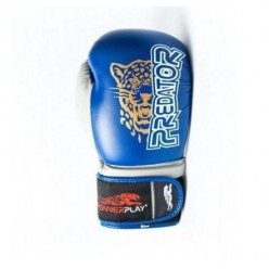 Боксерські рукавиці PowerPlay 3008 Сині 16 унцій