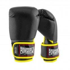 Боксерські рукавиці PowerPlay 3074 чорні 12 унцій