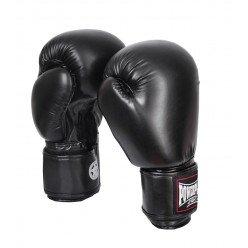 Боксерські рукавиці PowerPlay 3004 Чорні 12 унцій