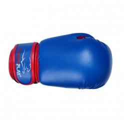 Боксерські рукавиці PowerPlay 3004 JR Синьо-Червоні 6 унцій
