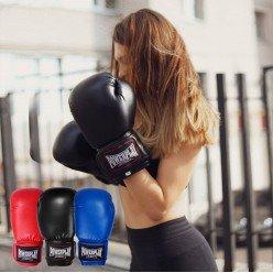 Боксерські рукавиці PowerPlay 3004 Чорні 18 унцій