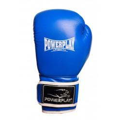 Боксерські рукавиці PowerPlay 3019 Сині 10 унцій