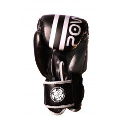 Боксерські рукавиці PowerPlay 3010 Чорно-Білі 14 унцій