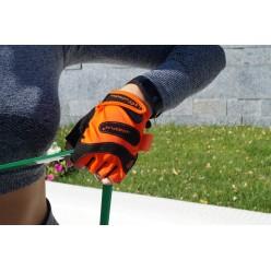 Рукавички для фітнесу PowerPlay 1729 D жіночі Оранжеві S