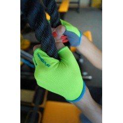 Рукавички для фітнесу PowerPlay 418 С жіночі Зелені M