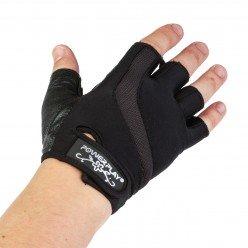 Рукавички для фітнесу PowerPlay 2311 жіночі Чорн XS