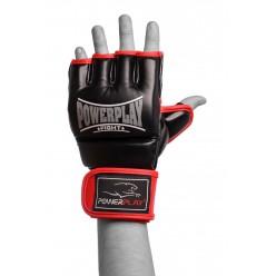 Рукавички для MMA PowerPlay 3058 Чорно-Червоні M