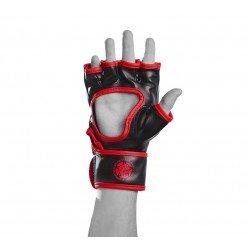 Рукавички для MMA PowerPlay 3055 Червоно-Чорні L