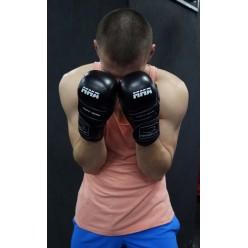 Рукавички для MMA PowerPlay 3026 Чорні S