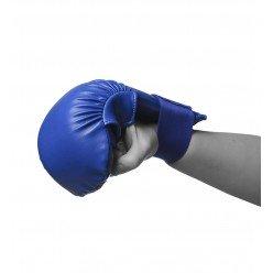 Рукавички для карате PowerPlay 3027 Сині L