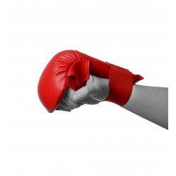 Рукавички для карате PowerPlay 3027 Червоні S