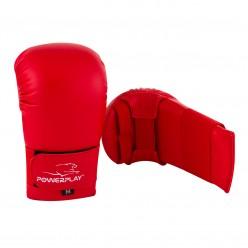 Рукавички для карате PowerPlay 3027 Червоні L