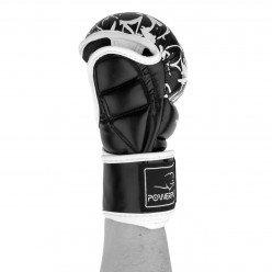Рукавички для Karate PowerPlay 3092KRT Чорні-Білі M