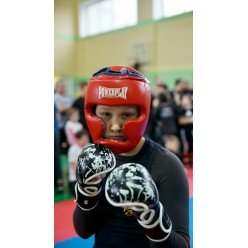 Рукавички для Karate PowerPlay 3092KRT Чорні-Білі L