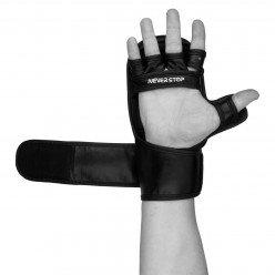 Рукавички для MMA PowerPlay 3026 Чорні XL