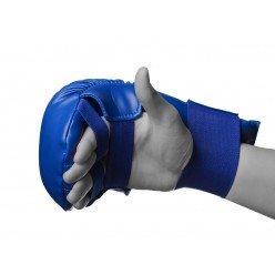 Рукавички для карате PowerPlay 3027 Сині S