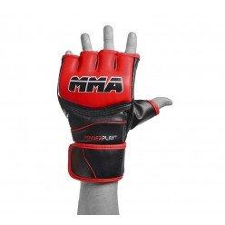 Рукавички для MMA PowerPlay 3055 Червоно-Чорні M