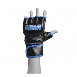Рукавички для MMA PowerPlay 3055 Чорно-Сині S