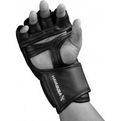 Рукавички для MMA Hayabusa T3 - Чорні M 4oz (Original)