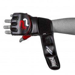 Рукавички для MMA PowerPlay 3093 Чорні XL