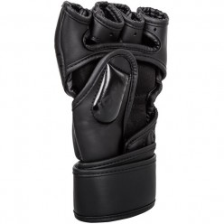 Перчатки Venum Undisputed 2.0 MMA Gloves - Skintex Leather - Mate Black