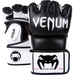 ПЕРЧАТКИ VENUM UNDISPUTED MMA GLOVES - NAPPA LEATHER - BLACK