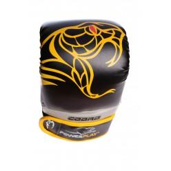 Снарядні рукавички PowerPlay 3038 Чорно-Жовті XL
