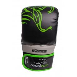 Снарядні рукавички PowerPlay 3038 Чорно-Зелені L