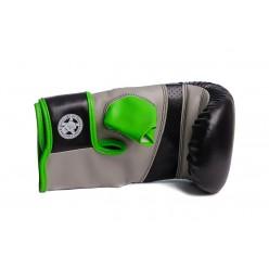Снарядні рукавички PowerPlay 3038 Чорно-Зелені XL