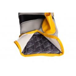 Снарядні рукавички PowerPlay 3038 Чорно-Жовті S