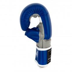 Снарядні рукавички PowerPlay 3038 Синьо-сірі M