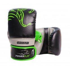 Снарядні рукавички PowerPlay 3038 Чорно-Зелені S