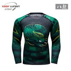 Рашгард Cody Lundin Green Viper - Venum Replica