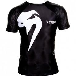Рашгард Venum Giant rashguard - Black короткий рукав