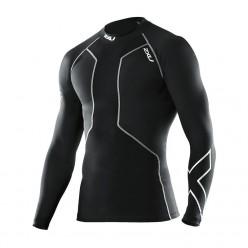 Мужская компрессионная футболка с длинным рукавом для восстановления после плавания 2XU