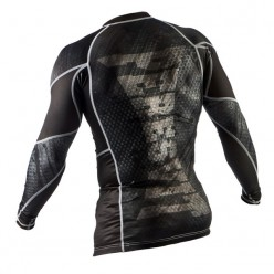 Рашгард Peresvit Immortal Silver Force Rashguard Long Sleeve Black Rain