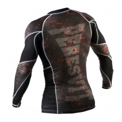 Рашгард Peresvit Immortal Silver Force Rashguard Long Sleeve Lava