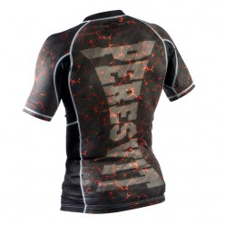 Рашгард Peresvit Immortal Silver Force Rashguard Short Sleeve Lava