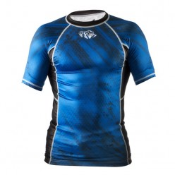 Рашгард Peresvit Immortal Silver Force Rashguard Short Sleeve Dark Marine